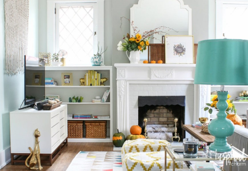 Picturesque Autumn Living Room Ideas To Get Your Mind Fresh In Time