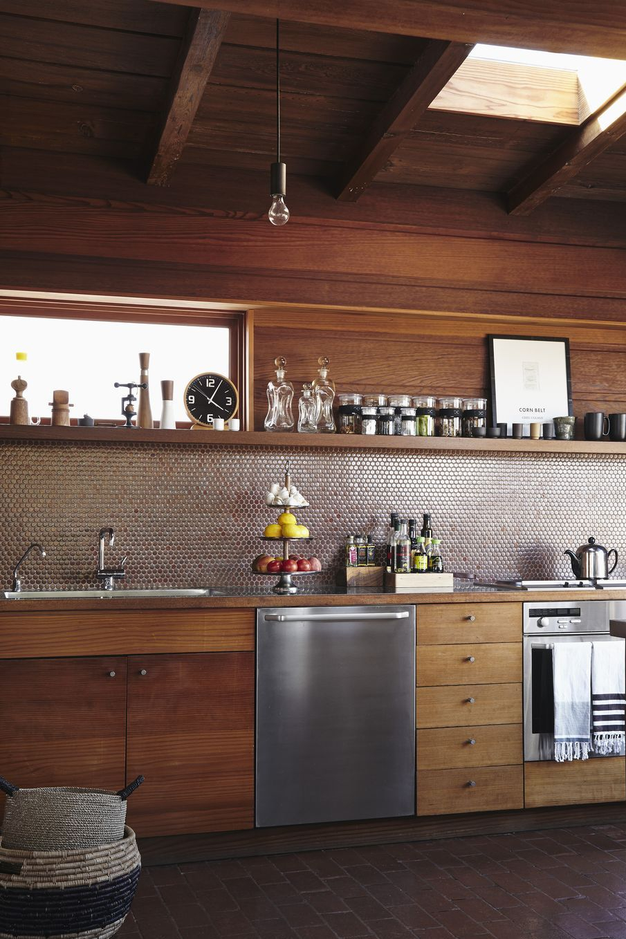 California cool A New Way To Enjoy The Wood Kitchens That Is Definitely Charming