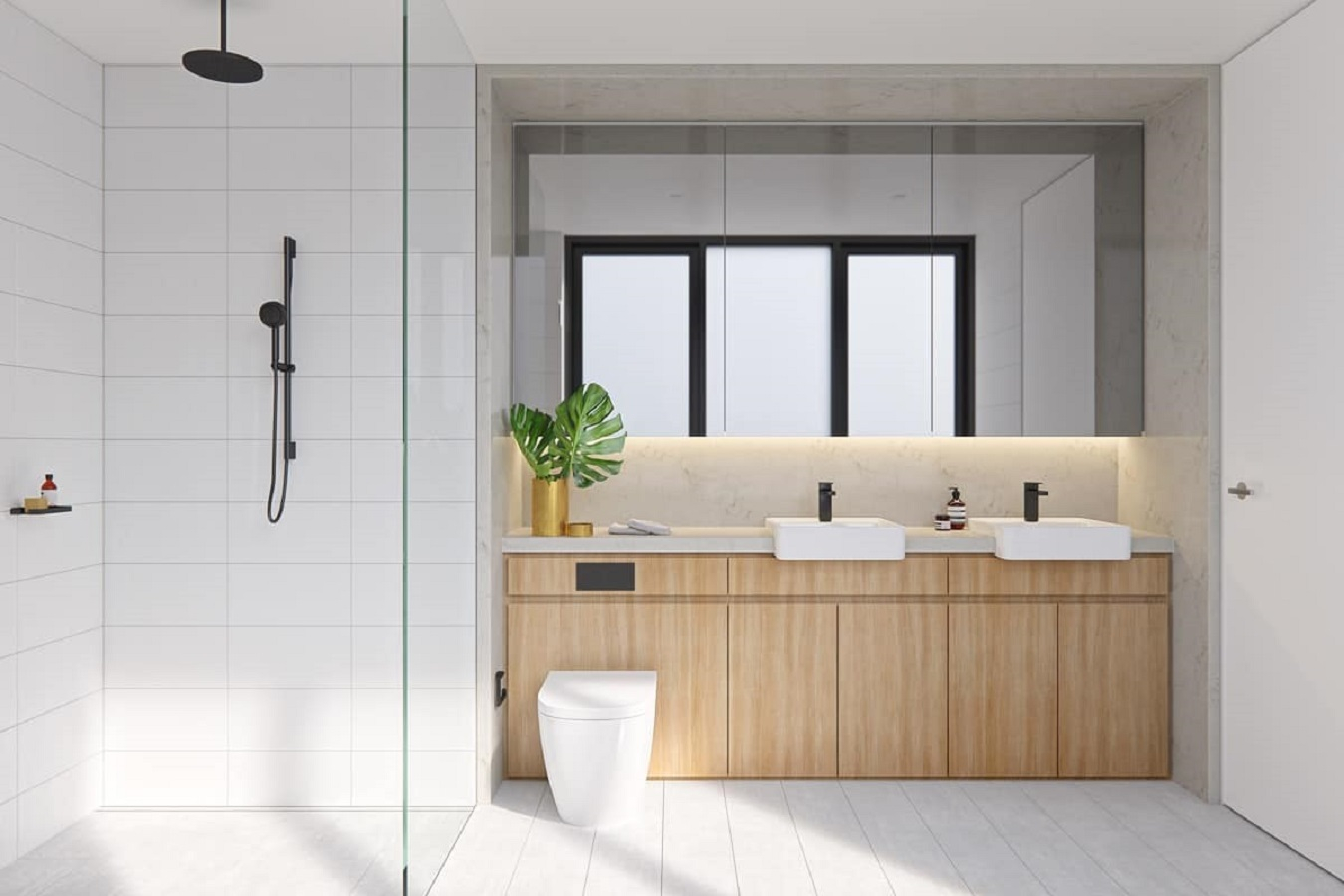 Create minimalist spa feel Charismatic Bathroom Design Ideas To Hypnotize Everyone In Your Home