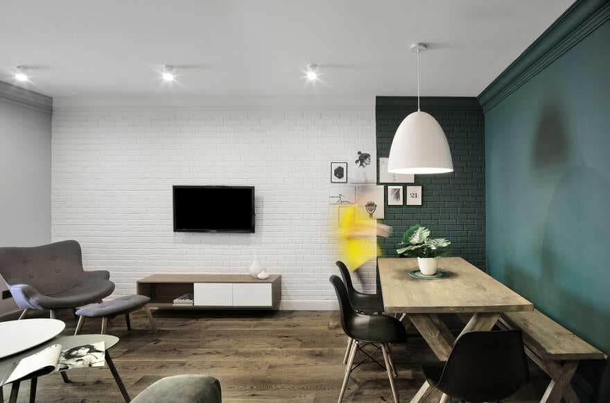Modern minimalist apartment with simple yet sophisticated interior 1