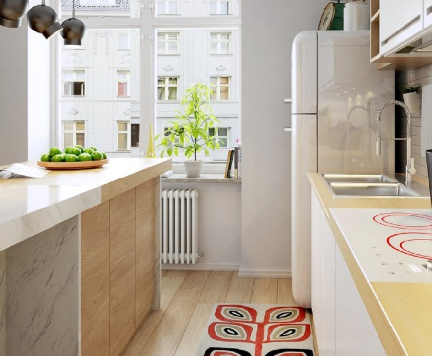 Nordic apartment design with more colorful and plenty of natural themes 5