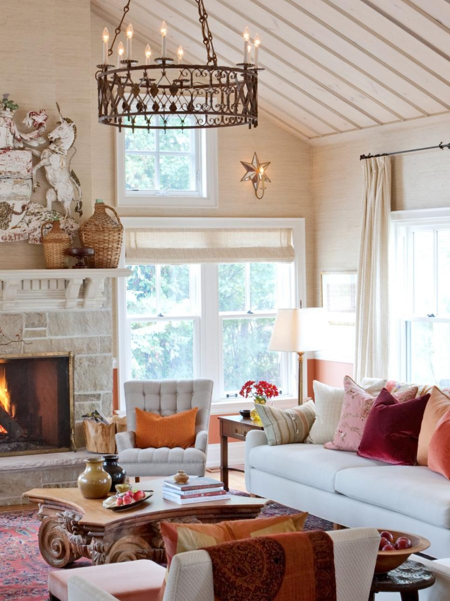 Orange featuring red living room Picturesque Autumn Living Room Ideas To Get Your Mind Fresh In Time