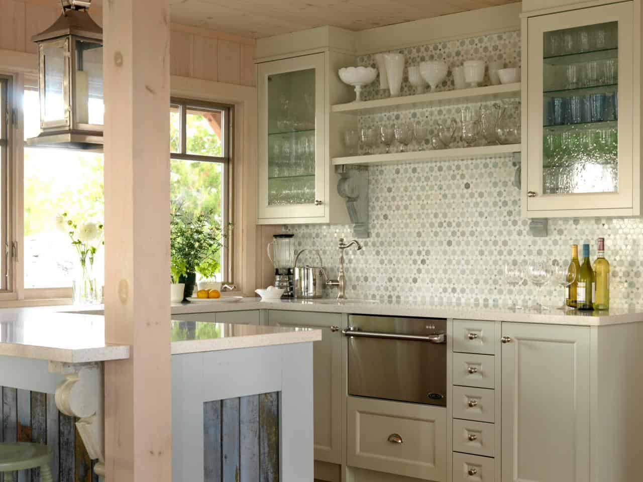 For kitchen cabinets Splashing Rain Glass Design To Show A Charming Rainfall For Home Interior Ideas
