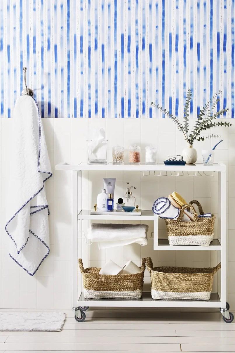 Small-bathroom-storage-ideas-bar-cart-1580422369