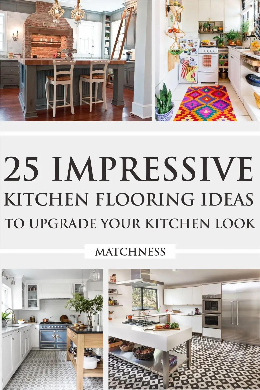 9 Impressive Kitchen Flooring Ideas to Upgrade Your Kitchen Look ...