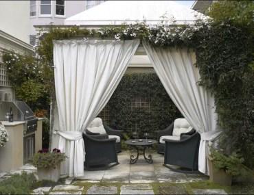 Outdoor gazebo drapes ideas design home ideas outdoor cabana curtains