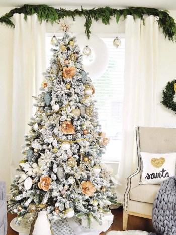 White-christmas-tree-decorating-ideas-28-1-kindesign