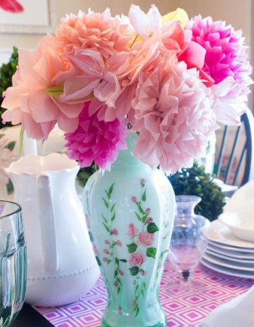1 pink-green-table-setting-ideas-16