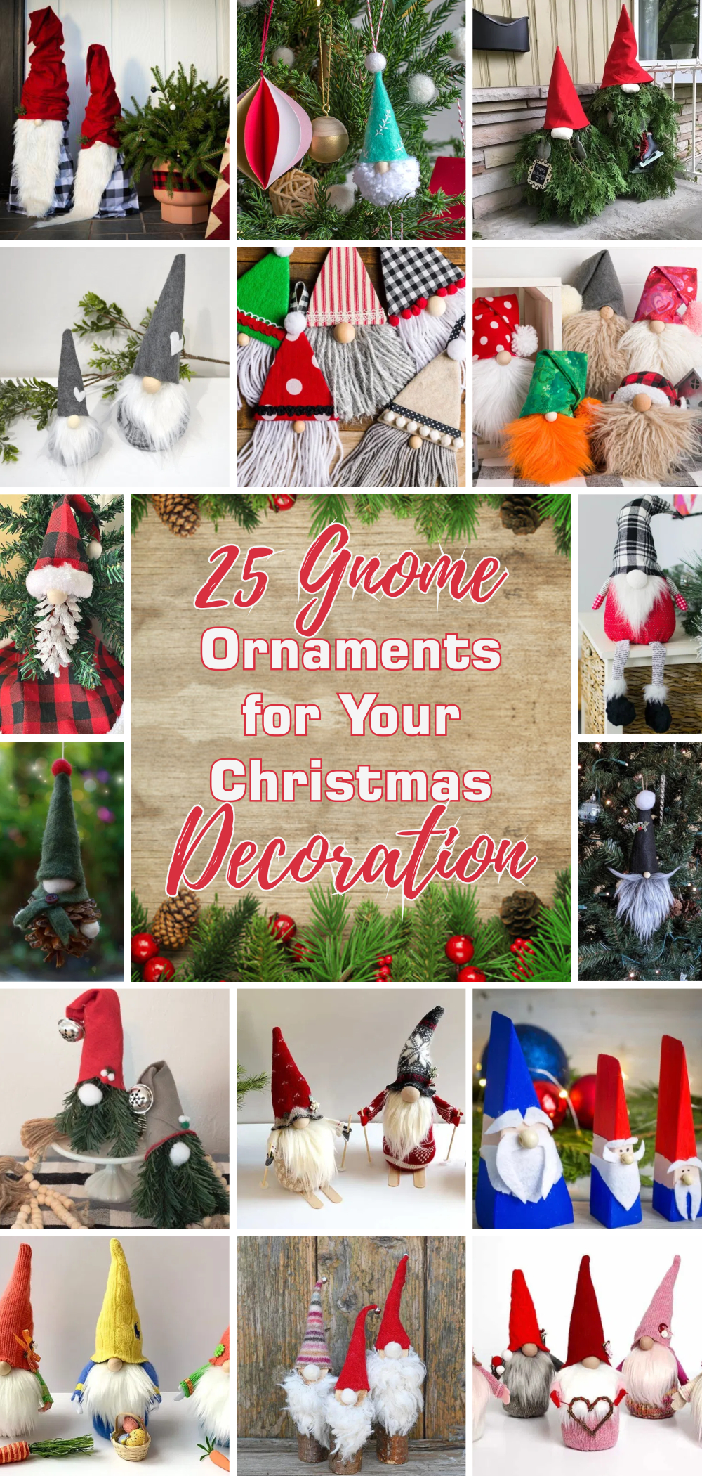 25 gnome ornaments for your christmas decoration 1