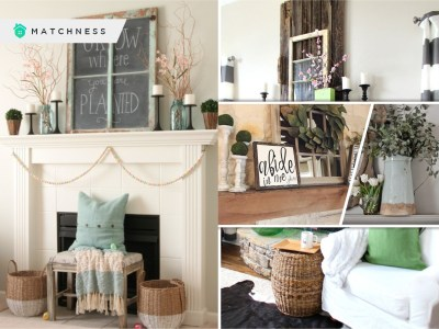 25 mantel designs to welcome spring season