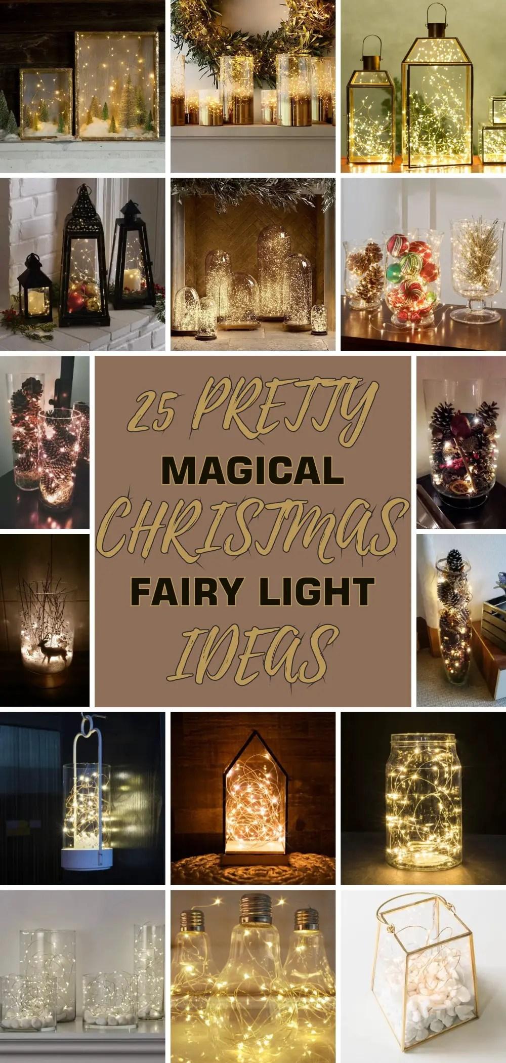 25 pretty magical christmas fairy light ideas 1