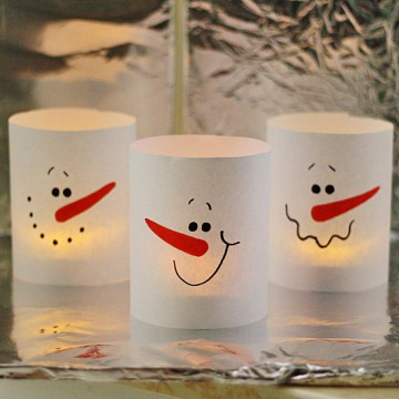 3-minute-paper-snowman-luminaries