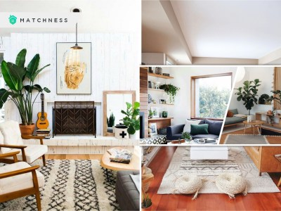 30 fresh living room decoration with greenery this winter 1