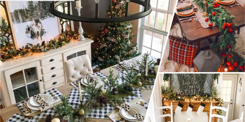 50 pretty christmas table setting for your family dinner