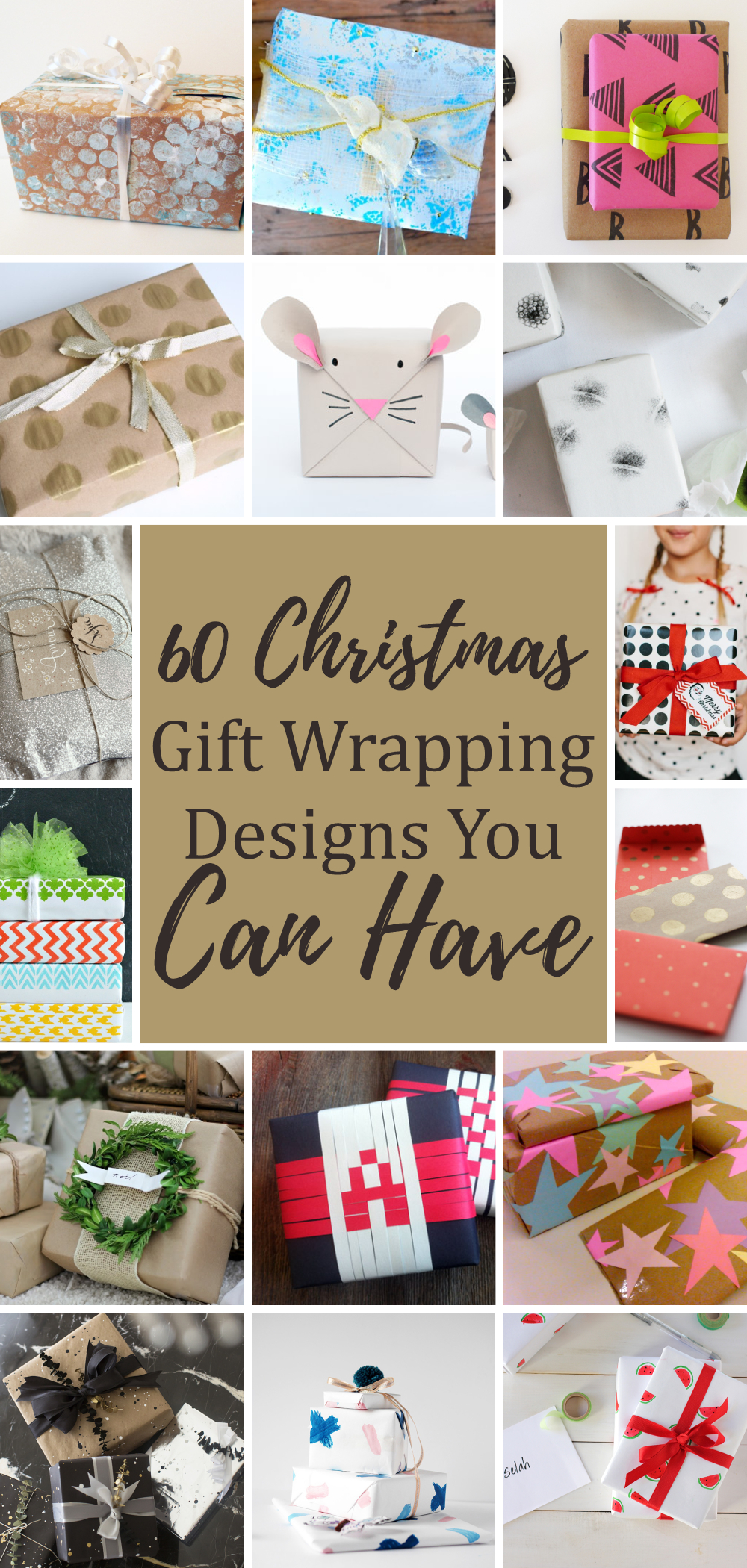 60 christmas gift wrapping designs you can have 1