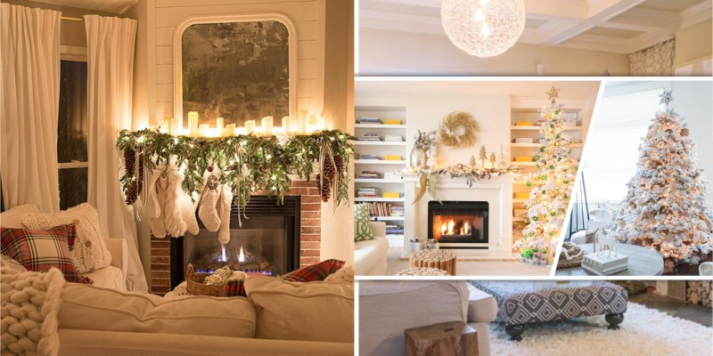 65 christmas living room with magical decoration
