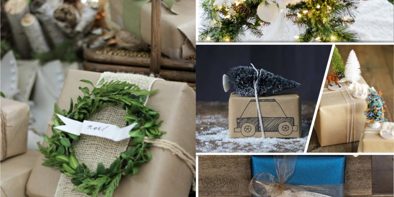 Christmas gift wrapping designs you can have