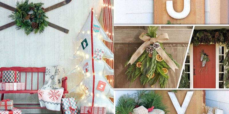 Creative evergreen sprig ornaments that possible to make