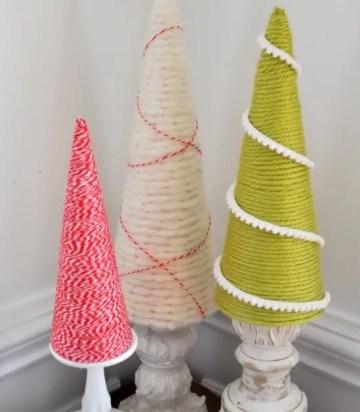 Diy-christmas-cone-trees-7