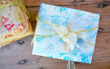 Diy-craft-holiday-christmas-gift-wrapping-poject-kids-crafts