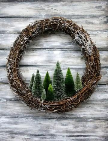 Diy-rustic-pine-trees-wreath