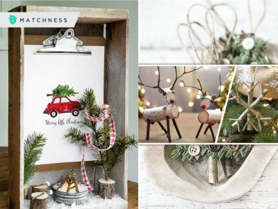 Diy twig ornaments for your farmhouse and rustic home decoration