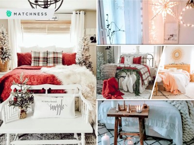 Most cozy winter bedroom decoration