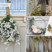 Pretty diy spring wreath ideas