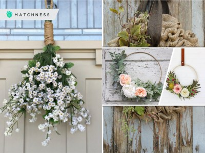 Pretty diy spring wreath ideas