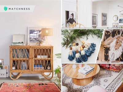 Ways to apply bohemian decoration during winter