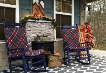 Christmas-cabin-porch