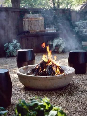 Concrete+backyard+fire+pit
