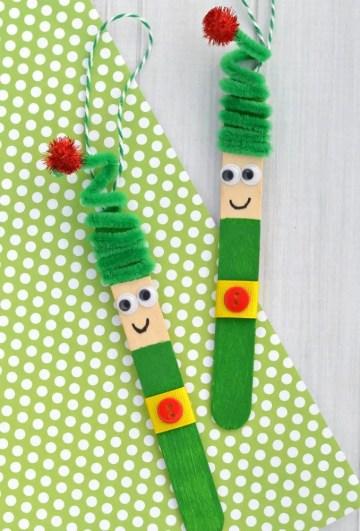 Craft stick elf