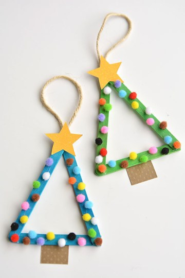 Diy-popsicle-stick-christmas-trees