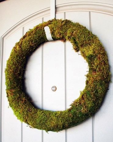 Moss-wreath-diy