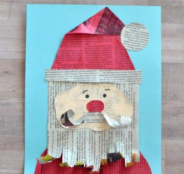 Newspaper-santa-craft-3