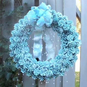 Pinecone-wreath-ideas