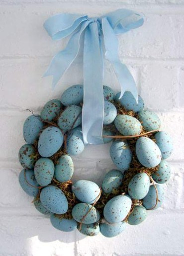 1 ribbon-styled-dusty-blue-egg-wreath-for-easter