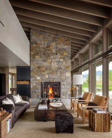 1-rustic-living-room-natural-rug