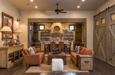 1-rustic-living-room-with-large-barn-door