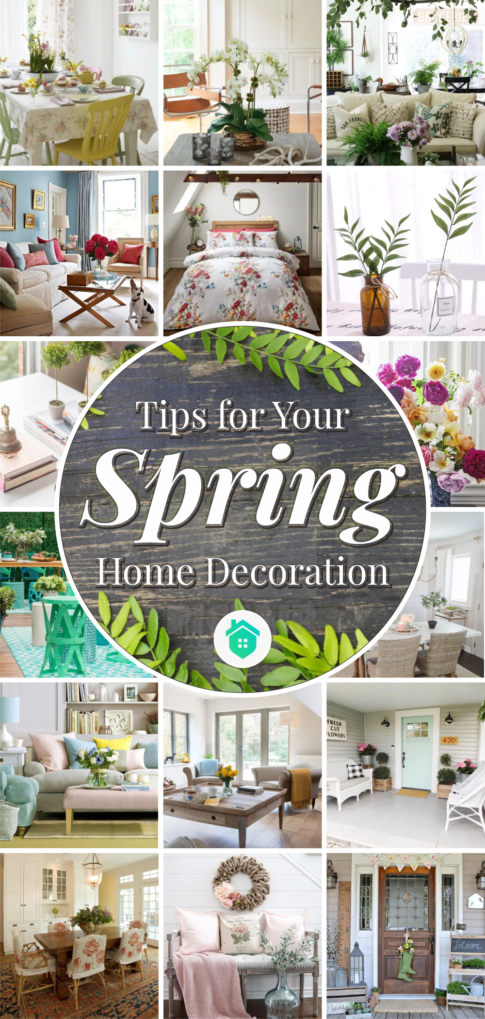 10 tips for your spring home decoration1