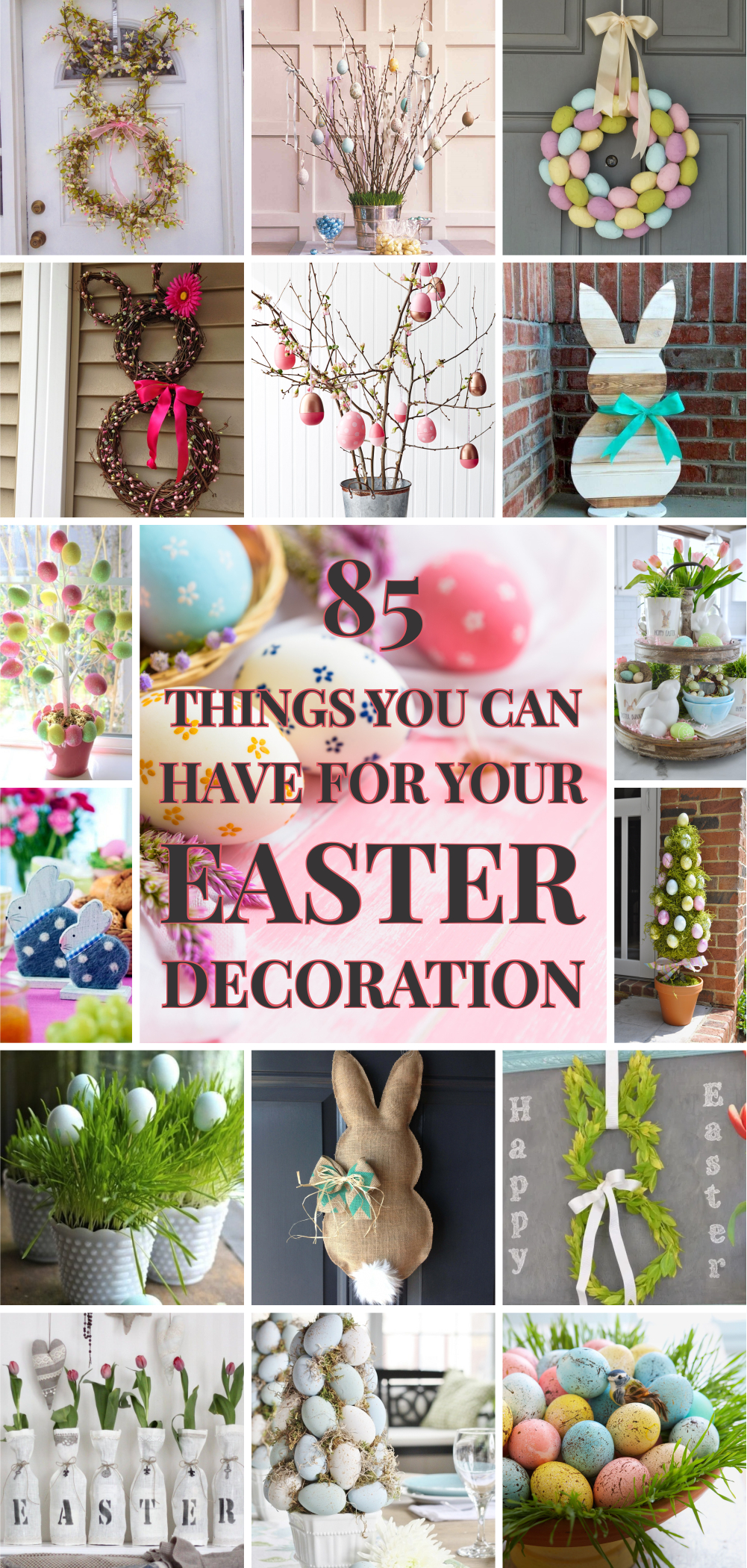 85 things you can have for your easter decoration 01