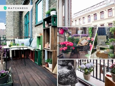 Balcony decor ideas with greenery and flowers to create a spring ambience fi