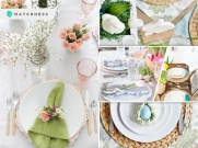 Chic spring table setting ideas to enjoy your dinner and lunch fi