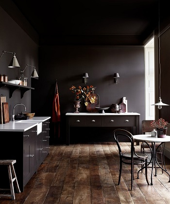 Dark drama Innovative Kitchen Design Ideas That Are All Bang On Trend 2021