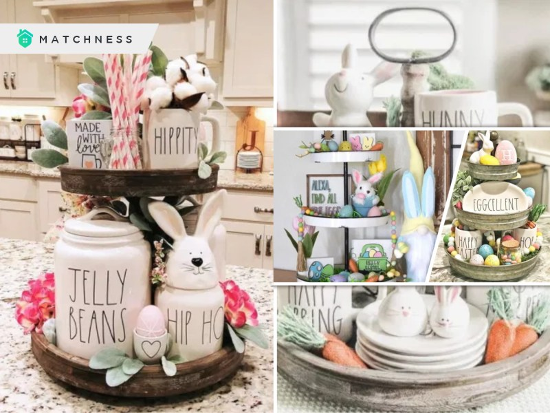 Enjoy these 70 marvellous tray spring decoration ideas fi