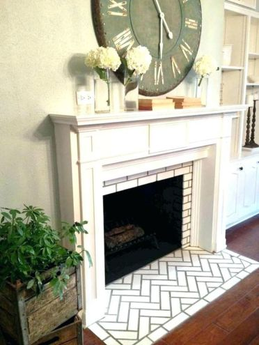 Farmhouse-fireplace-mantel-diy-