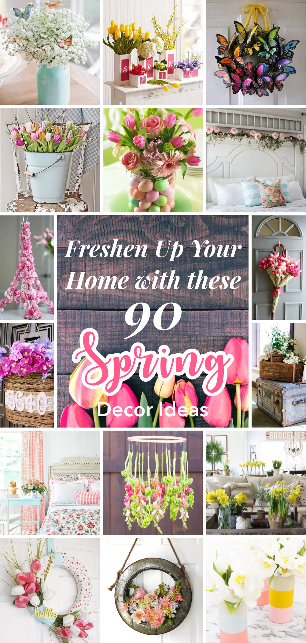 Freshen up your home with these 90 spring decor ideas 1