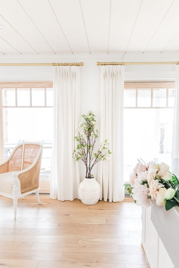 Gorgeous way to decorate a home with faux florals in spring that so inspiring 5