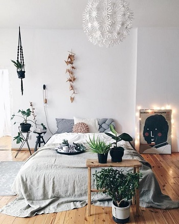 Greenery for spring Amazeballs Spring Bedroom Decoration Ideas To Bring Mood And Fresh